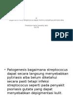Pr Streptococus Bisa Memicu Pitiriasis Alba