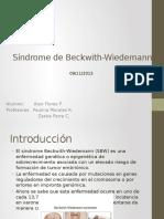 Sindrome de Beckwith Wiedemann