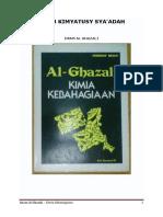 Imam Al-Ghazali - Kitab Kimyatusy Sya'Adah (Kimia Kebahagiaan)