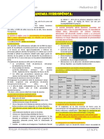 1F3C. Anemia Ferropénica