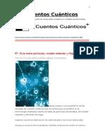 Cuentos Cuánticos- Guía Sobre Partículas, Modelo Estándar y Higgs