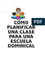 PLANIFICANDO