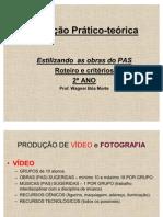 Avaliação Prático-teórica - ESTILIZANDO AS OBRAS DO PAS