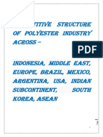 Competitive Structure of Polyester Industry