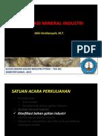 02. Klasifikasi Mineral Industri