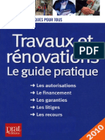 Travaux Et Rénovation - Le Guide Pratique