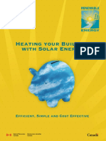 Heating Your Building With Solar Energy