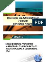 Mini-curso sobre Contratos Administrativos e da Administração Pública