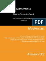 Masterclass Webinar - Amazon EC2