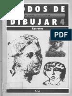 Pintura Curso Libro de Dibujo Modos de Dibujar Retratos - Por Timoteo