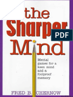 The Sharper Mind Mental Games for a Kwuehwqehrwquirwyqiruwqeen Mind and a Foolproof Memory
