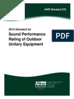 AHRI Standard 270 2015