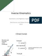 Inverse Kinematics-Geometric+Algebraic