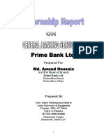 Assignment for HR (Modified) Prime Bank Ltd.