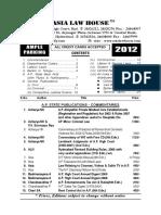 Law Books Index