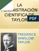LA ADMINISTRACIÓN CIENTÍFICA DE TAYLOR.pptx