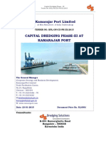 Capital Dredging Tender Document