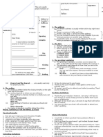 Informal Letter Format