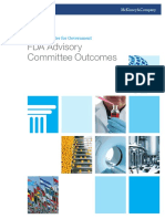 FDA Advisory Committee Outcomes