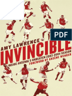 Amy Lawrence - Invincible Inside Arsenal
