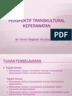 Perspektif Transkultural Keperawatan