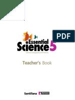 Teacher's Book Essential Science 5