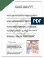 Interstitial Lung Diseases (ILD)