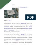 Fpga Hardware
