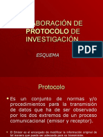 Elaboración de Protocolo de Investigación1