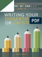 Writing Your Dissertation or Capstone - Roush, Karen [SRG]