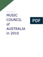 MCA Plan for 2010