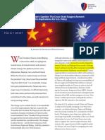 Taiwan's Gamble (Cross-Strait Rapprochement)