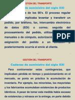 GESTION DE TRANSPORTE