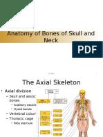 Bone of Head and Neck-Dr MBA Block 6 Ok