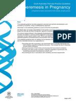 Hyperemesis Pregnancy WCHN PPG 22112011