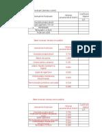 Tabel Evaluare Incarcari