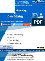 Difference Between Data Warehouse and Data Mining