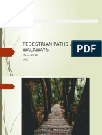 Pedestrian Paths