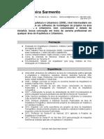 Currículo Danilo Sarmento