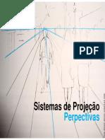 Aula Sistemas de Projeção Perspectivas
