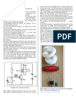 Drive a CFL From 6v or 12v