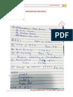 MM Notes - Chawla Topics