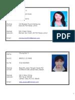 Senarai Nama Pismp Gstt Prasekolah-biodata Pelajar