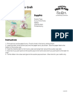 FNF_Easter Paper Bunny Pops Craft