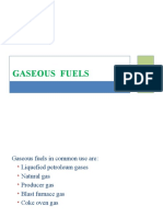 Lecture 5 - Gaseous Fuels