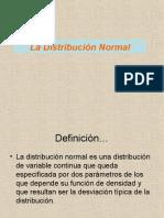 Distribucion Normal