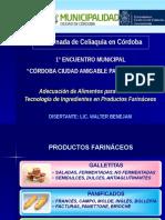 """""""Córdoba Ciudad Amigable para el Celiaco"""", C.Benejam"""