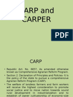 Carp and Carper