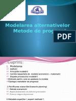 Modelarea Alternativelor