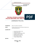 Monografia de Liderazgo Policial